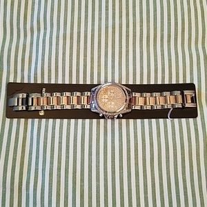 NWT NY&C Rose Gold & Silver Watch